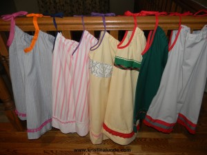 Pillowcase dresses 1